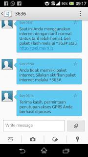 Mematikan Layanan GPRS Telkomsel Dapat Dilakukan Untuk Mencegah SMS 3636