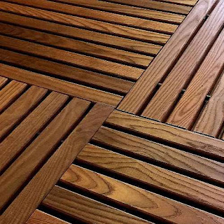 Greatmats flexible wood deck tile