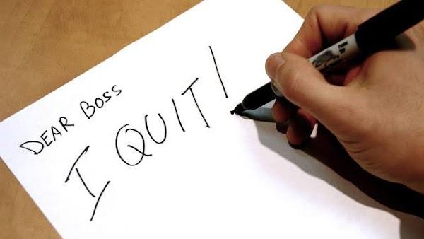 Ingin Resign Kerja?? tunggu dulu, ada yang harus kita lakukan sebelum mengajukan nya.!!