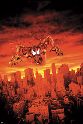 """Maximum Carnage"" Marvel Giclee Print by Bill Sienkiewicz x Grey Matter Art"