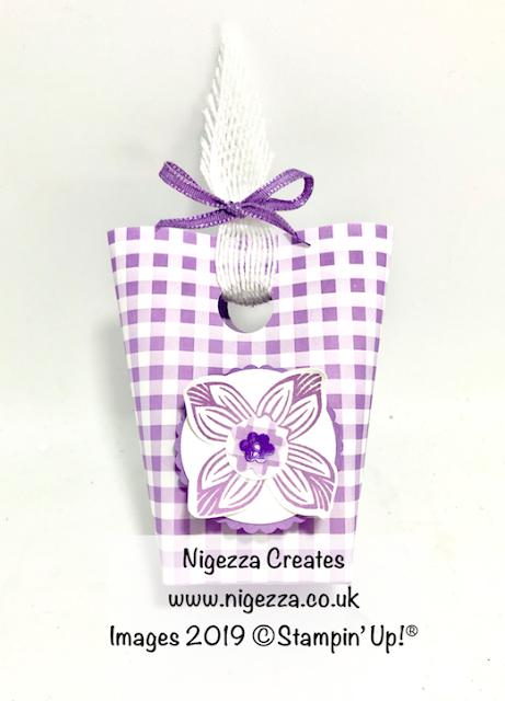 Nigezza Creates, My Stampin' Up! Retiring Favourites:Gingham Gala DSP