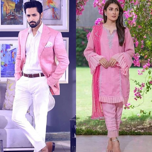 Danish Taimoor and Ayeza Khan Same Dress excellent Clicks 3