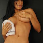 Andrea Rincon, Selena Spice Galeria 19: Buso Blanco y Jean Negro, Estilo Rapero Foto 150