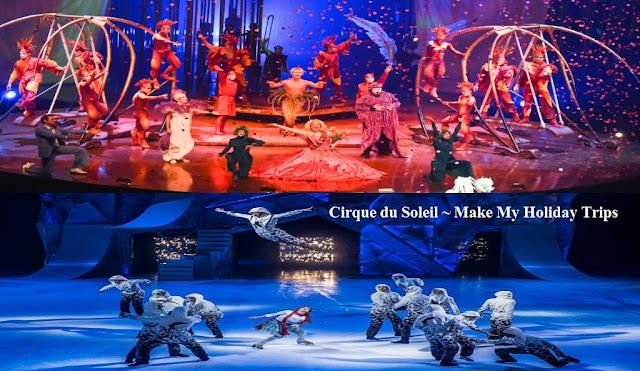 Cirque du Soleil, Cirque du Soleil Las Vegas