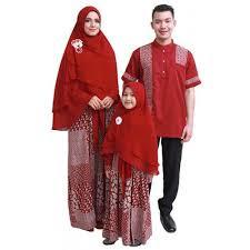 Model Busana Muslim Gamis Seragam Keluarga Terbaru