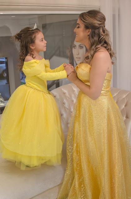 o dia que viramos princesas