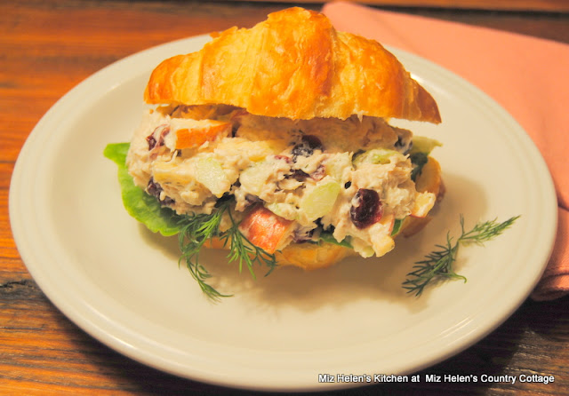 Nana's Chicken Salad Sandwich at Miz Helen's Country Cottage