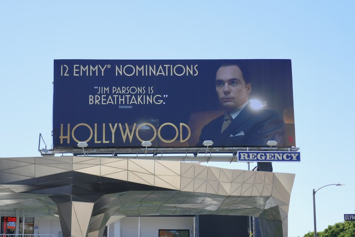 Jim Parsons Hollywood Emmy nominee billboard