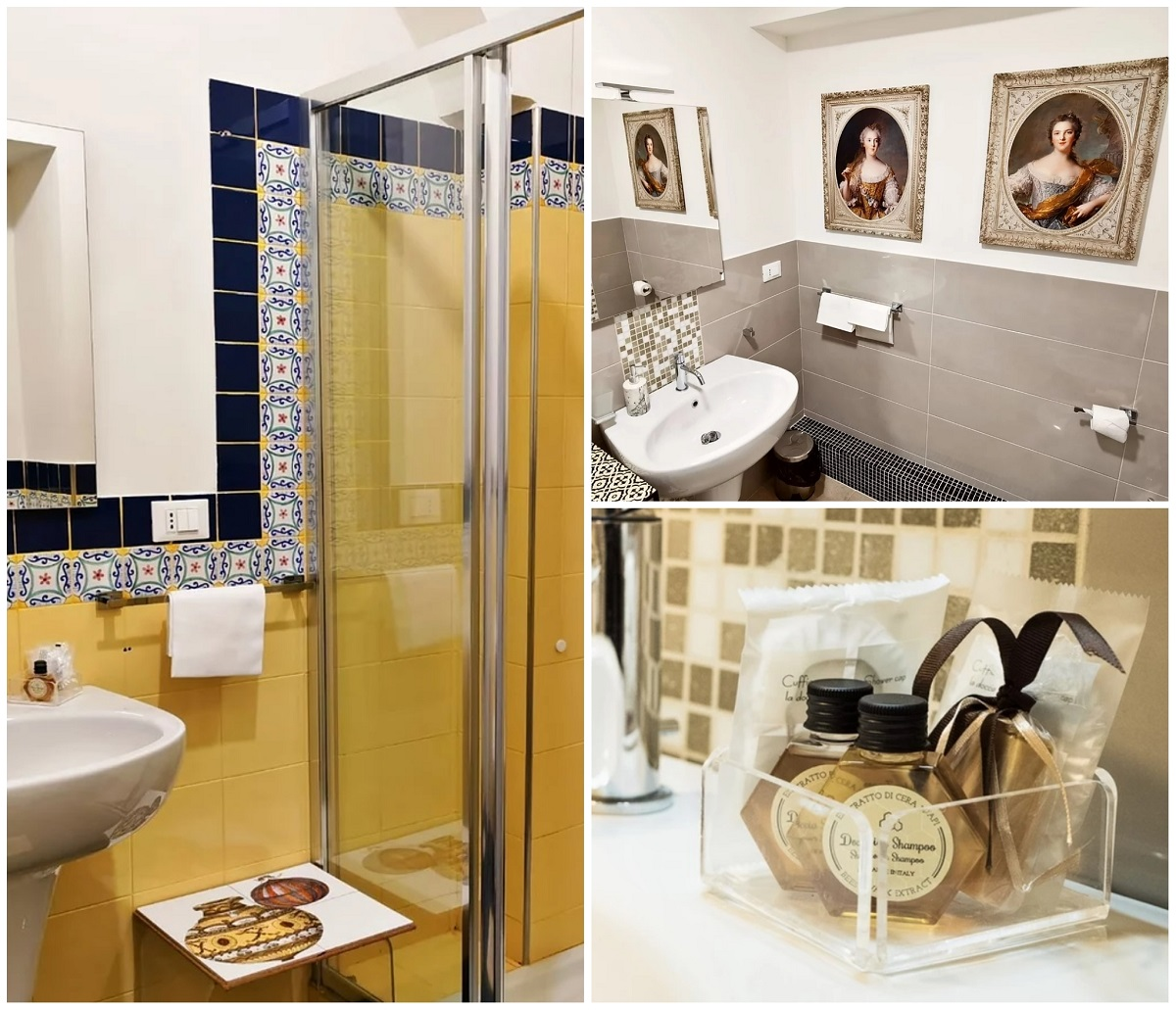 Artistic Charming House Caserta bagno