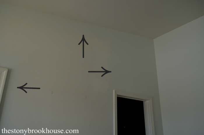 Painting the master bedroom