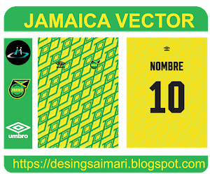 Uniforme Jamaica 2021 Fantasy (Vector)