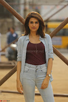 Shraddha Das in a Lovely Brown Top and Denim jeans ~ Exclusive Unseen Beauty HD Pics 006.JPG