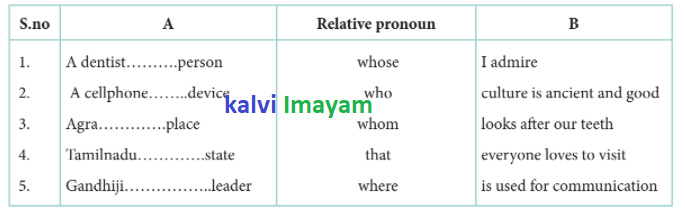 12th English Refresher Course Answers Relative Pronoun