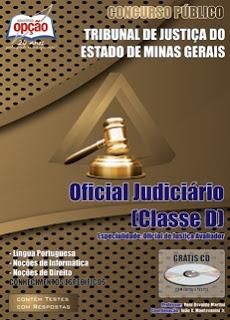 Apostila TJ MG - Oficial Judiciário - Tribunal de Justiça de Minas Gerais (BH)