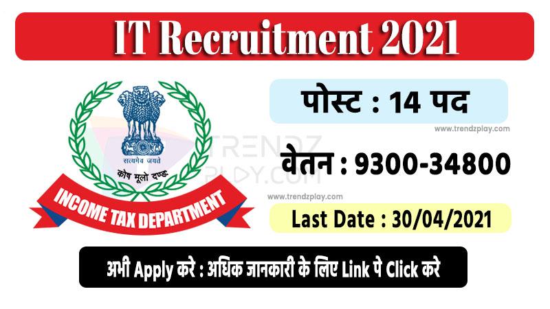 IT Recruitment 2021