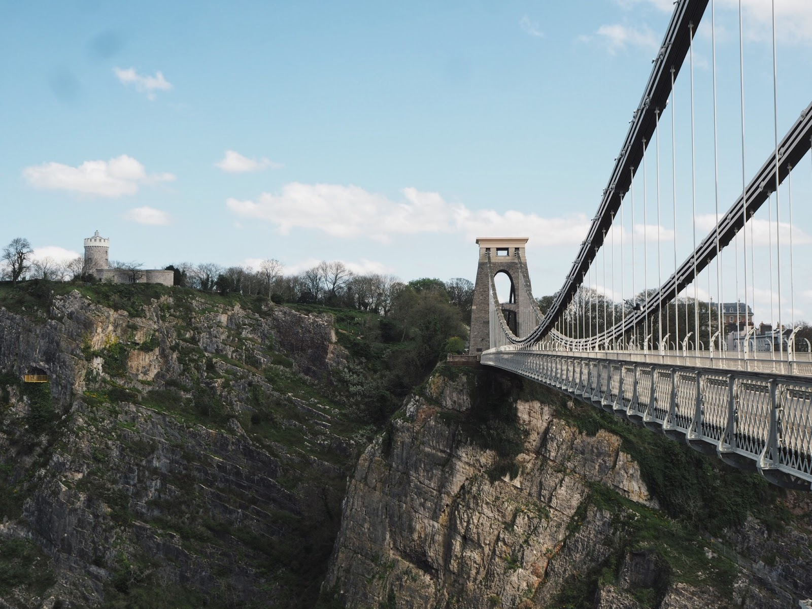 bristol clifton suspension bridge observatory
