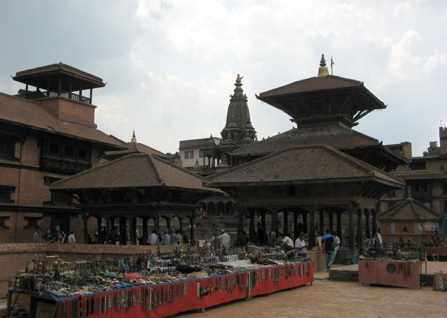 La plaza Durbar de Patan