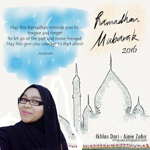 Ramadhan Kareem : The Month Of Blessing.