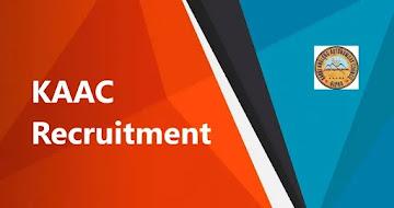 KAAC Recruitment 2021 – 19 Inspector of Taxes, Constable & Other Vacancy