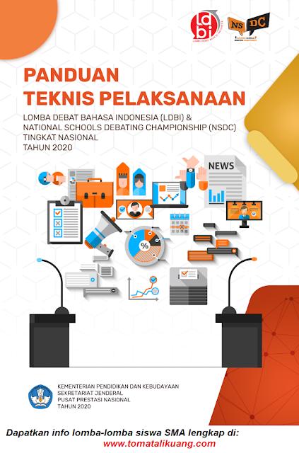 panduan teknis juknis ldbi nsdc tingkat nasional tahun 2020 pdf tomatalikuang.com