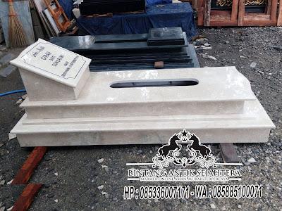 Makam Marmer Jakarta, Contoh Makam Minimalis Marmer, Makam Marmer