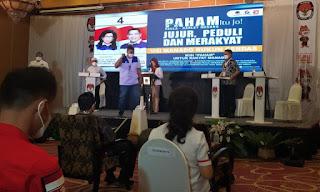 Debat Kandidat Wakil Walikota Manado, Harley Mangindaan Paling Paham