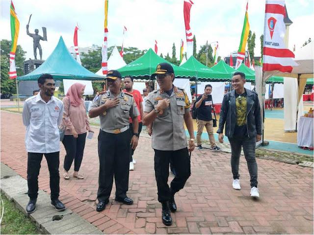 Royke Lumowa Cek Persiapan Millennial Road Safety Festival di Kota Ambon