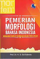 BUKU PEMERIAN MORFOLOGI BAHASA INDONESIA
