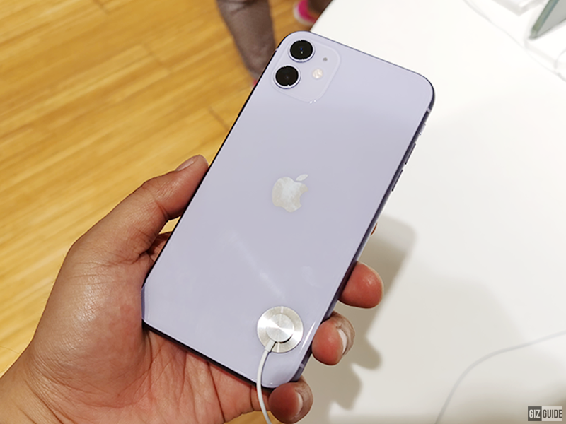 iPhone 11 with dual-cam