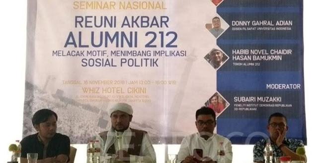 MK Tolak Gugatan Prabowo, PA 212 Akan Gelar Ijtima Ulama 4