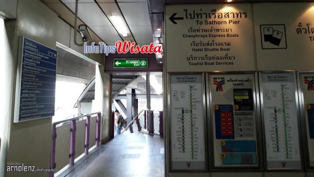 BTS Saphan Taksin Bangkok