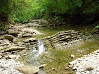 Плесецкие водопады на реке Тхаб, Михайловский перевал