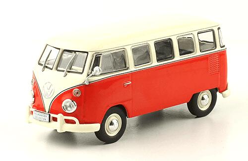 volkswagen Kombi T1 1973 1:43, volkswagen collection, colección volkswagen méxico