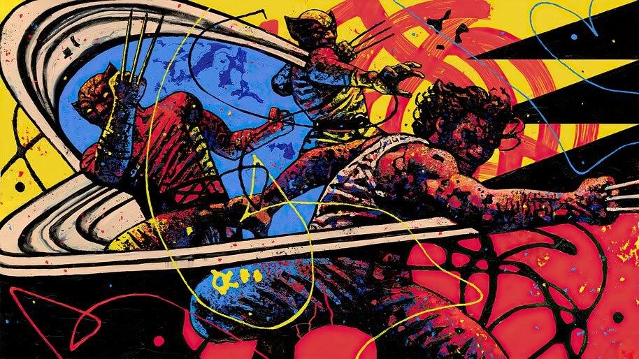 Fortnite, Wolverine, Chapter 2, Season 4, Loading Screen, 4K, #7.2525