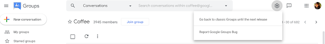 Experience the New Google Groups, Launching in Beta 2