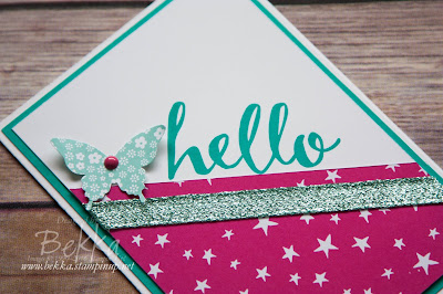 Hello and Welcome to our Stamping Group!  Made using supplies from Stampin' Up! UK available here