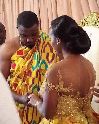 Photos From Actor John Dumelo's Wedding To His Beautiful Wife