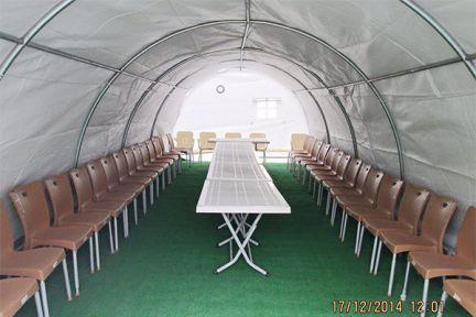 taziye çadırı kaç kişiliktir ?