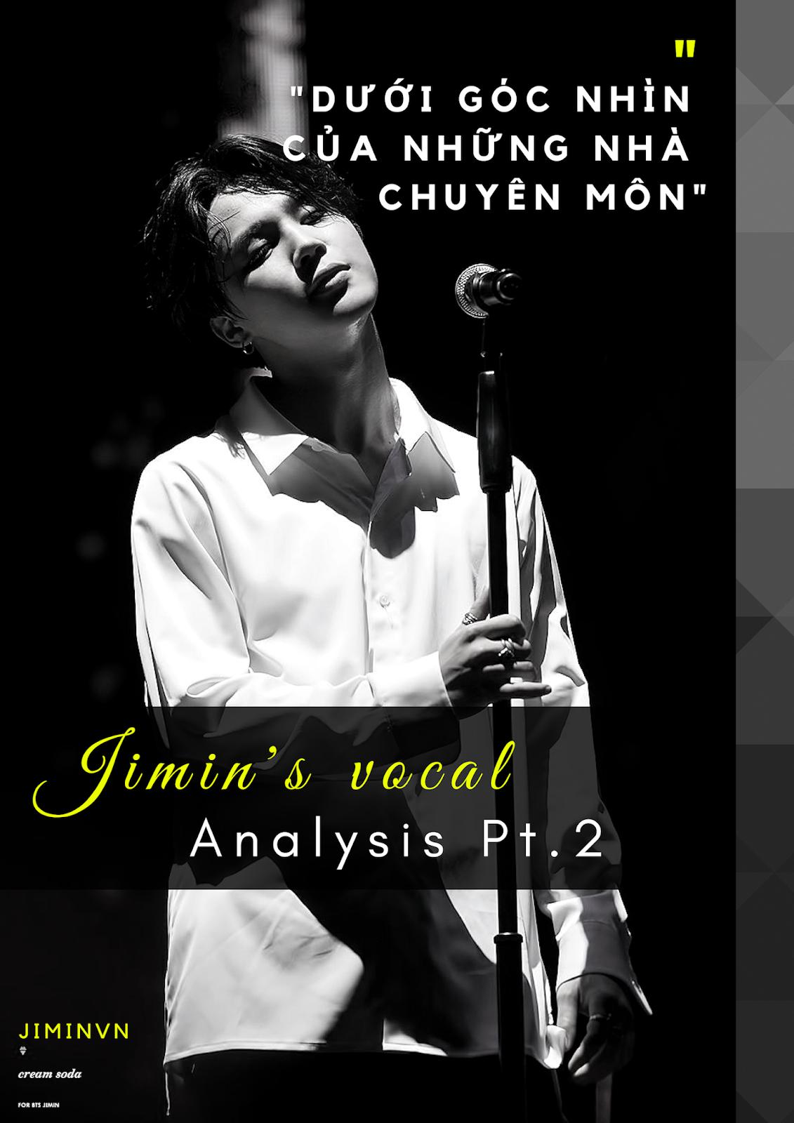 Bts Vocal Analysis 2019
