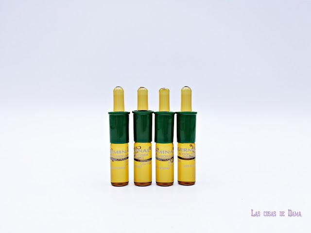 Germinal Acción Profunda Prebióticos beauty belleza ampollas skincare cuidado facial dermocosmetica farmacia