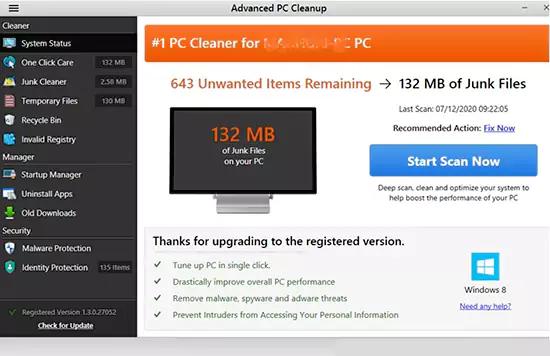 Advanced PC Cleanup تحميل