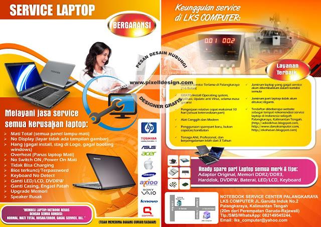 Iklan Servis Laptop Komputer