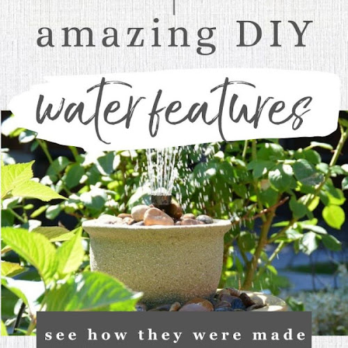 Three Amazing DIY Water Features