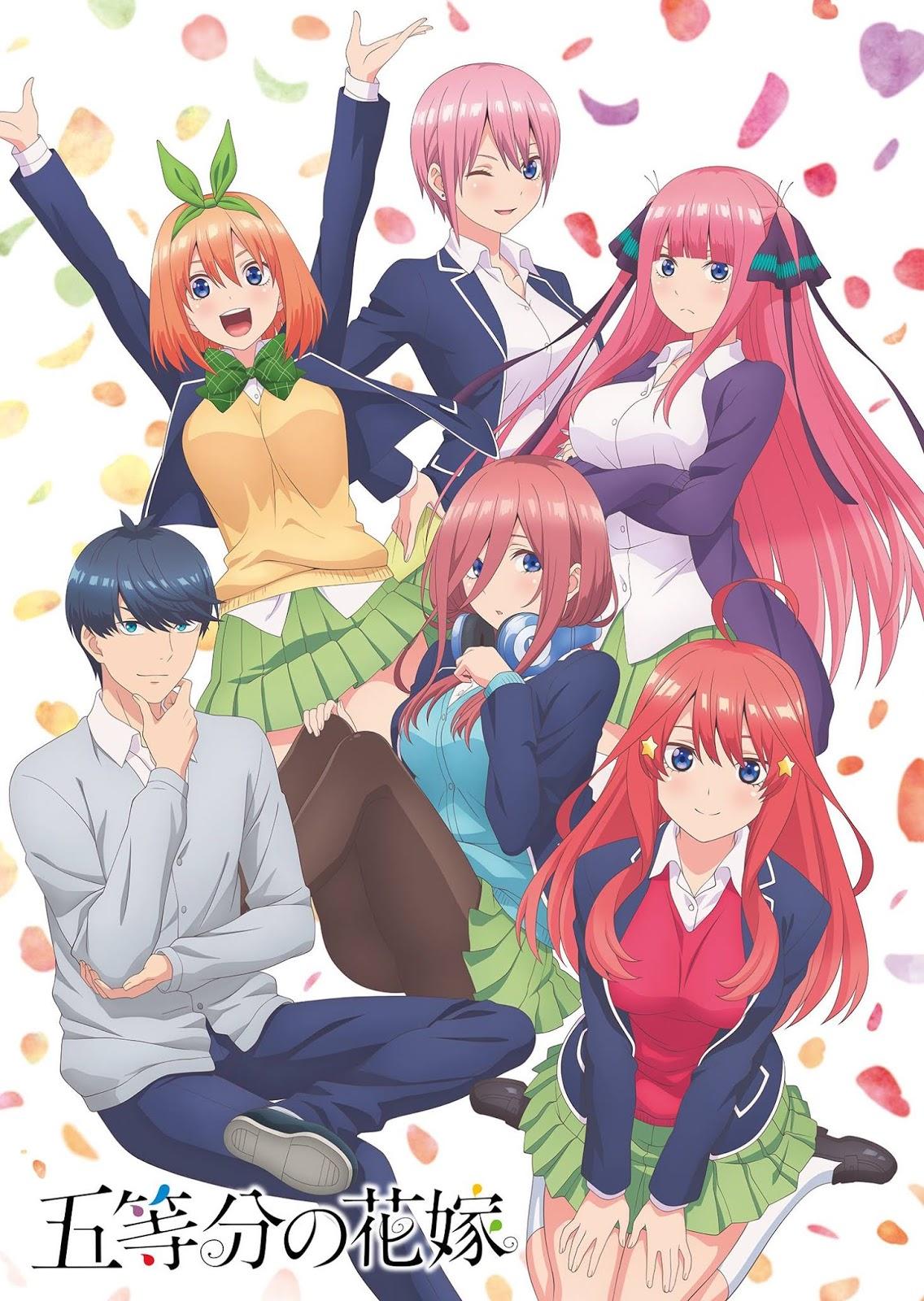 Anime Review] Gotoubun no Hanayome - Anime Harem Ladang Waifu yang ...