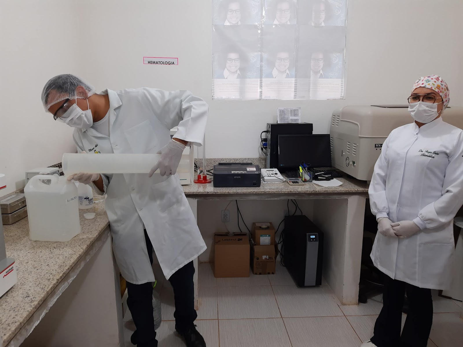Hospital de Juruti passa a fabricar álcool 70 para abastecer unidades de Saúde