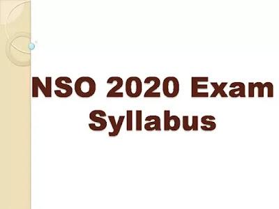 NSO Exam Syllabus 2020
