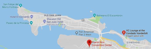 ICANN61 (Convention Center) & Puerto Crypto (Condado Vanderbilt), San Juan, PR