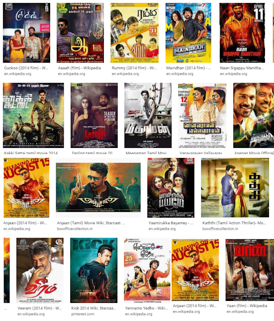 2014 Tamil Movies Hit And Flop List
