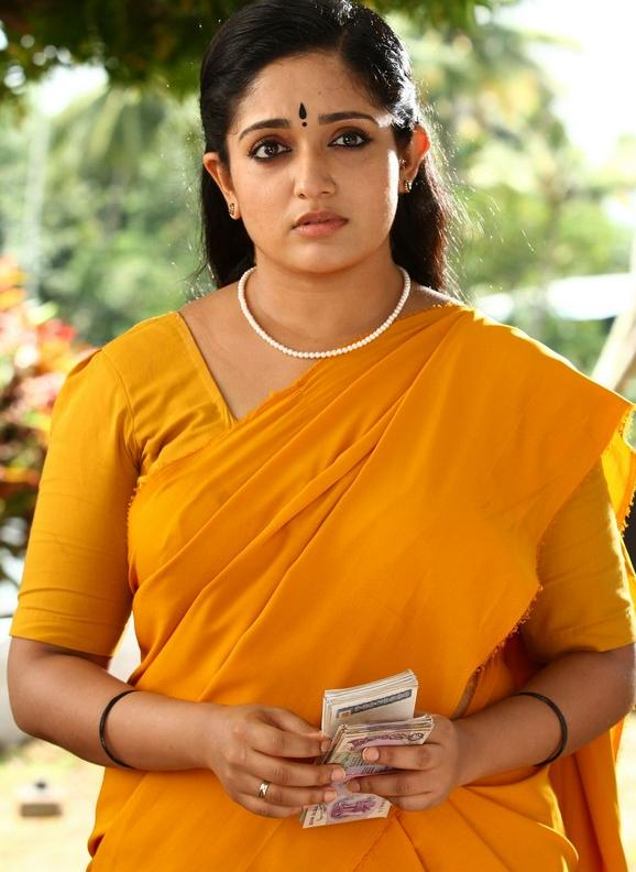 Actress Sexy Photos Kavya Madhavan Hot Photos In Saree-1866