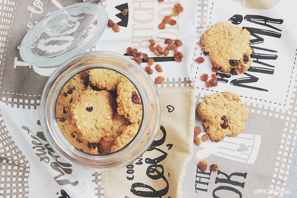 prosty przepis na dietetyczne ciastka owsiane